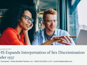 HHS Expands Interpretation of Sex Discriminationunder 1557