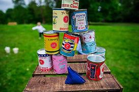 Garden Games Tin Can Alley Cannon Hall Wedding Robert Peet