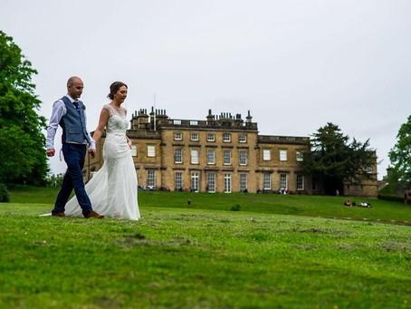 A Garden Tipi Wedding at Cannon Hall - Ellie & Ben