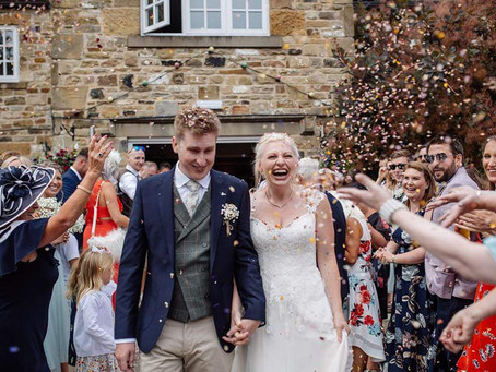A Rustic Floral Wedding at Tankersley Manor - Joanne & Andrew