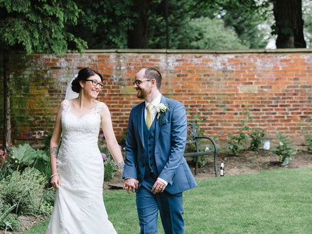A Sunshine Wedding with Garden Games at Hellaby Hall Hotel - Amy & Jonathan