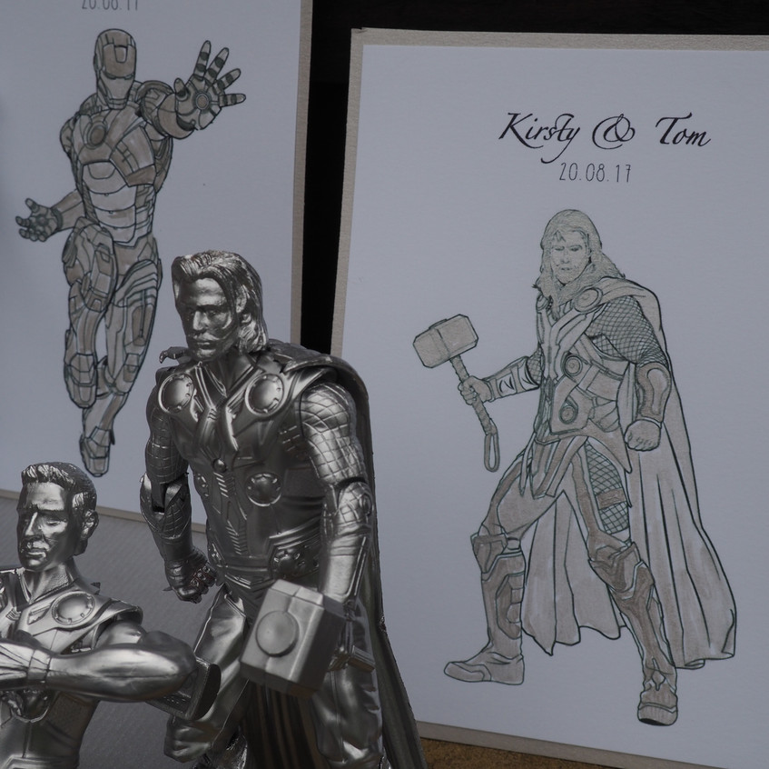 here is thor table decor and signage