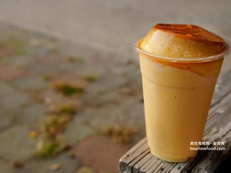 【美食】台南分享-台南美食 銀波布丁-布丁冰沙+布丁