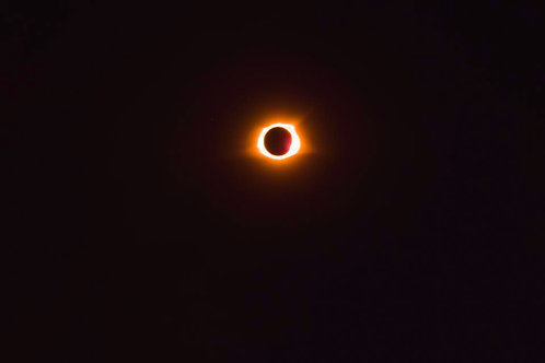 Solar Eclipse in totality