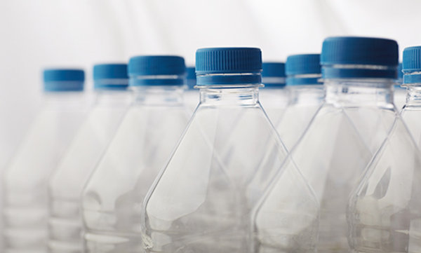 Fresh clean water bottles for disaster victims.