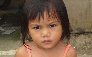 A Filipino young girl.