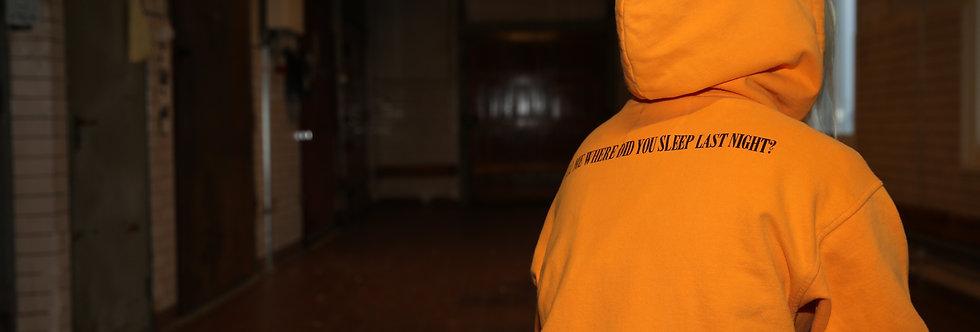 NO SLEEP HOOD - Electric Orange