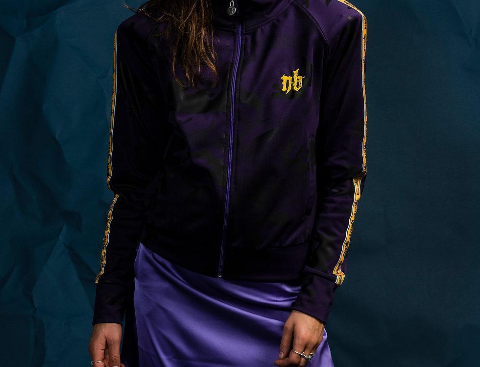WT Track Jacket - Purple Rain
