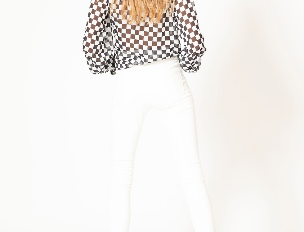 CHECKPOINT TIE SHIRT