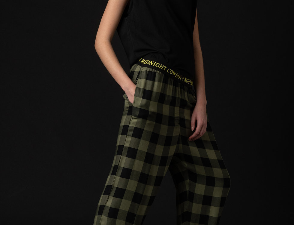 INSOMNIA FLANNEL PANT - ARMY