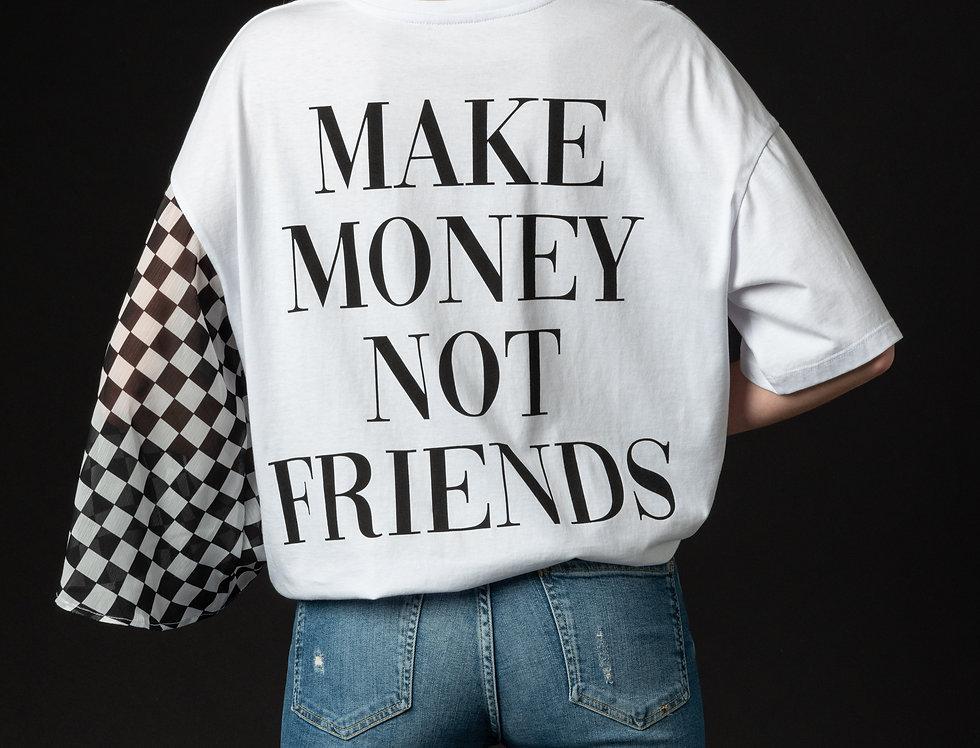 MAKE MONEY ONESLEEVE TEE