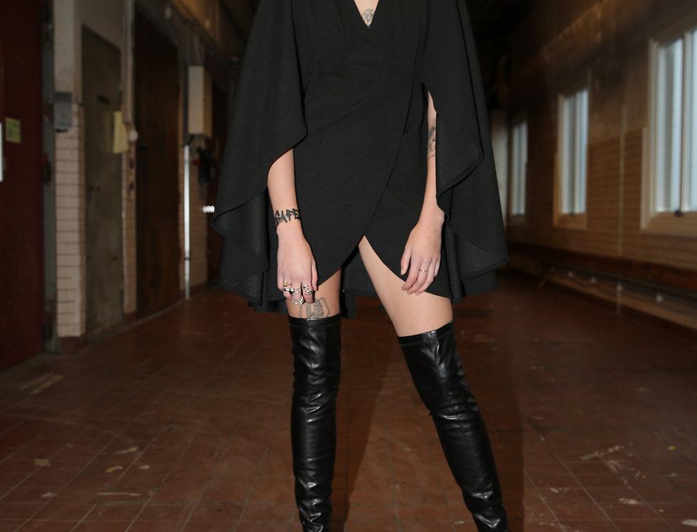 RHIANNON MINI DRESS - Noir
