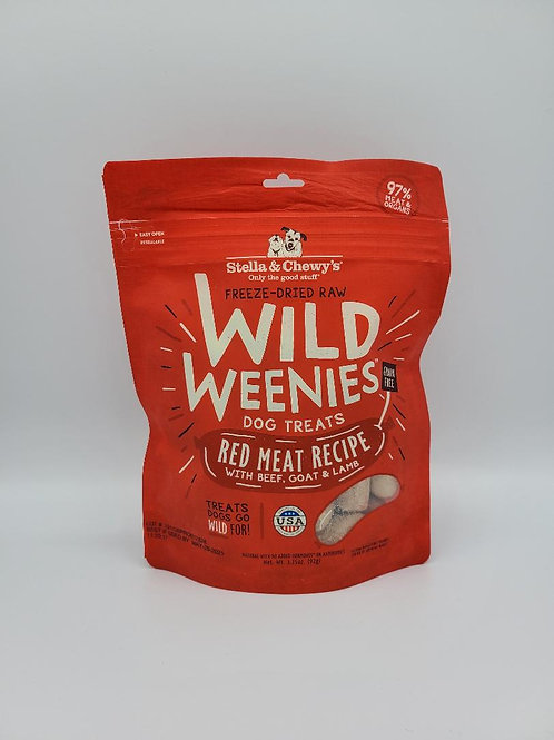 Stella & Chewy's Freeze-Dried Wild Weenies Red Meat