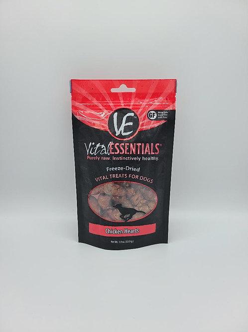 Vital Essentials Freeze-Dried Chicken Hearts