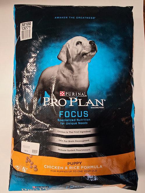 Purina Pro Plan Puppy Chicken & Rice 18 lbs