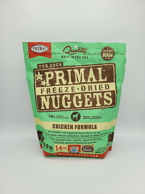 Primal Freeze-Dried Nuggets Chicken