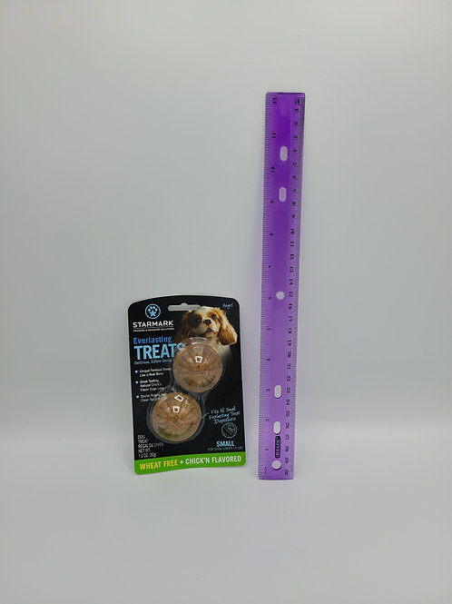 Starmark Everlasting Toy Treats Small Chicken 2 Pack