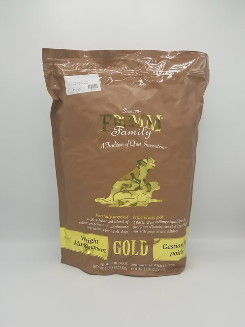 Fromm Weight Management Gold 5 Lbs