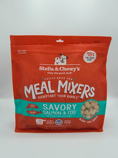 Stella & Chewy's Raw Freeze-Dried Meal Mixers Salmon & Cod