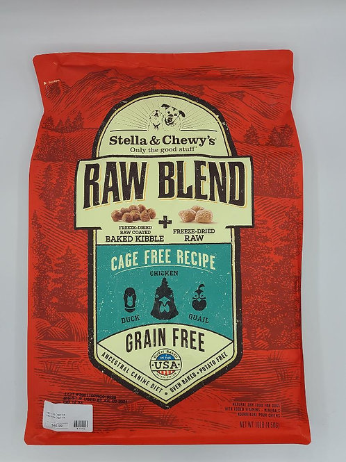 Stella & Chewy's Freeze-Dried Baked Kibble Duck, Chicken & Quail