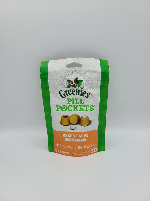 Greenies Pill Pockets Tablet Size Cheese