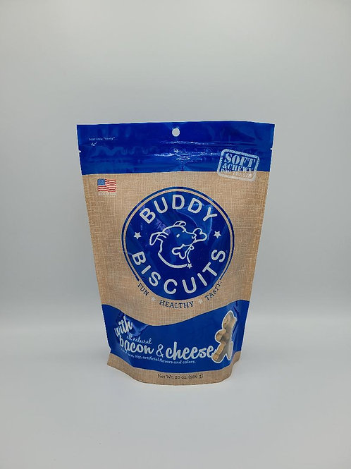 Buddy Biscuits Soft & Chewy Bacon & Cheese