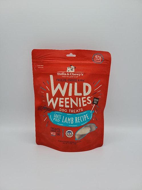 Stella & Chewy's Freeze-Dried Wild Weenies Lamb