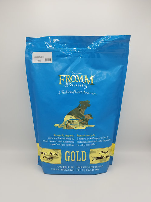 Fromm Large Breed Puppy Gold 5 Lbs