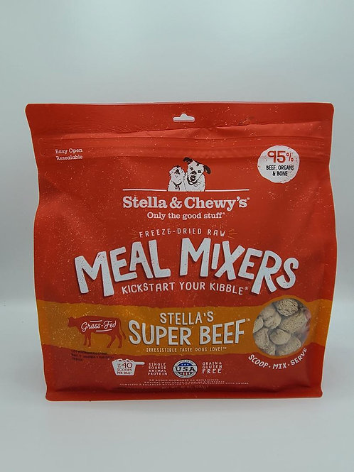 Stella & Chewy's Raw Freeze-Dried Meal Mixers Beef