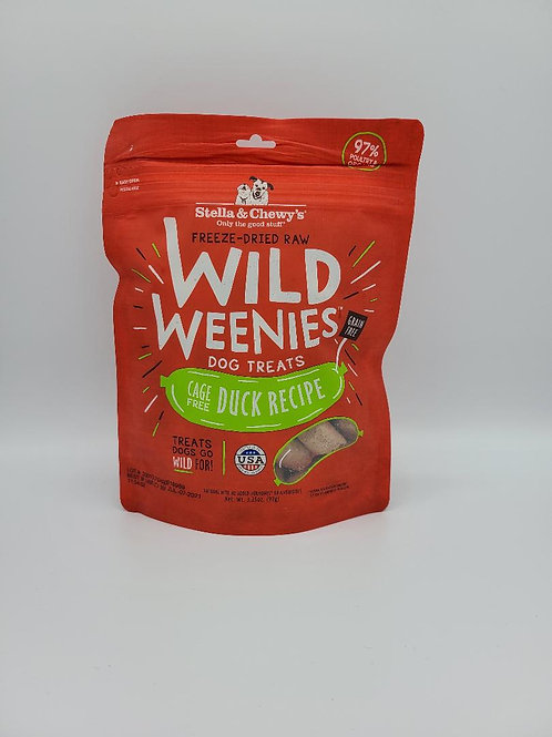 Stella & Chewy's Freeze-Dried Wild Weenies Duck