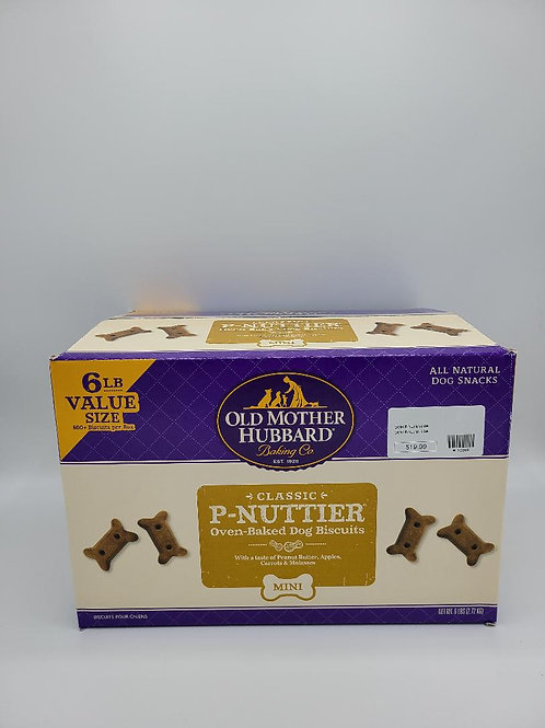 Old Mother Hubbard Peanut Butter Mini Biscuits Large Box