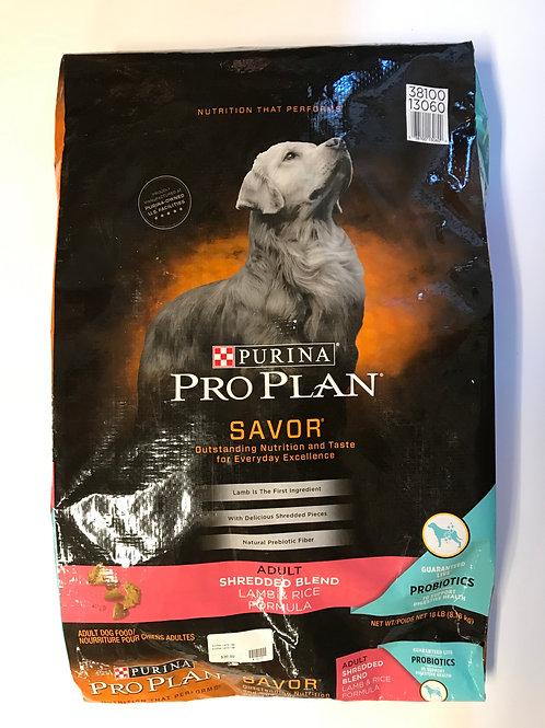 Purina Pro Plan Adult Lamb & Rice 18 lbs