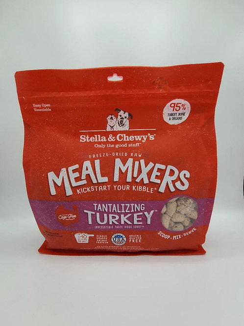 Stella & Chewy's Raw Freeze-Dried Meal Mixers Turkey