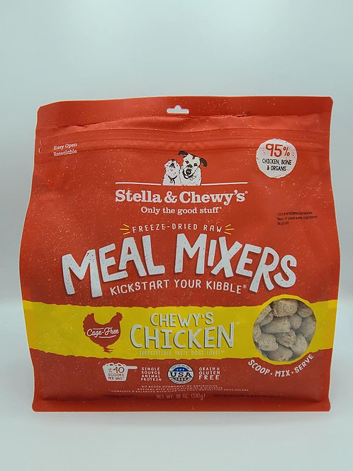Stella & Chewy's Raw Freeze-Dried Meal Mixers Chicken