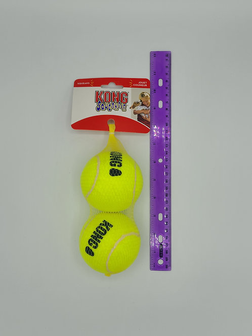 Kong Large Squeaking 2 Pack Balls