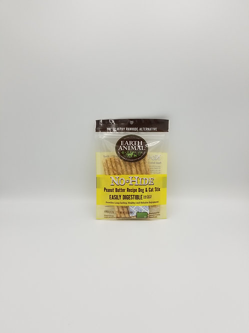 Earth Animal No Hide Peanut Butter Stix (10 Pack)