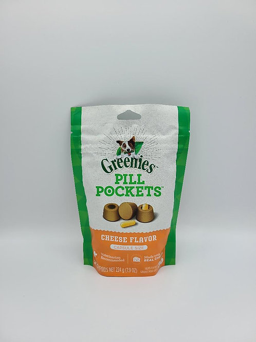 Greenies Pill Pockets Capsule Size Cheese