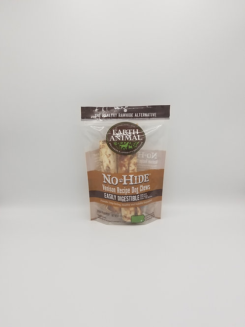"Earth Animal No Hide Venison 7"" Chews (2 Pack)"