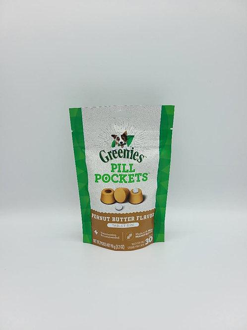 Greenies Pill Pockets Tablet Size Peanut Butter