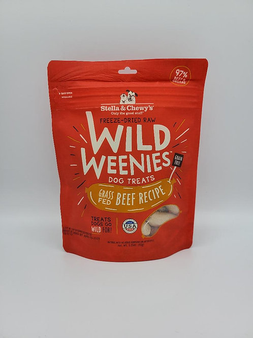Stella & Chewy's Freeze-Dried Wild Weenies Beef
