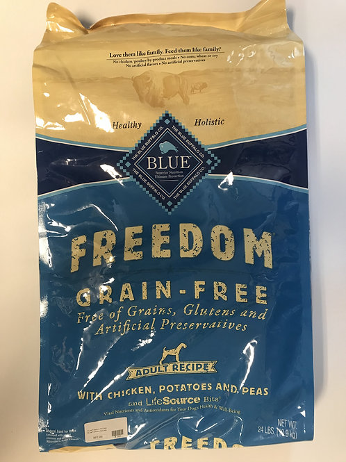 Blue Buffalo Freedom Grain-Free Chicken, Potatoes, and Peas 24 lbs