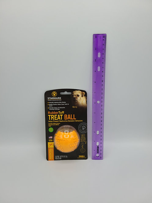 Starmark RubberTuff TREATBALL Small
