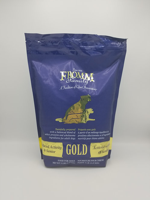 Fromm Reduced Activity & Senior Gold 5 Lbs