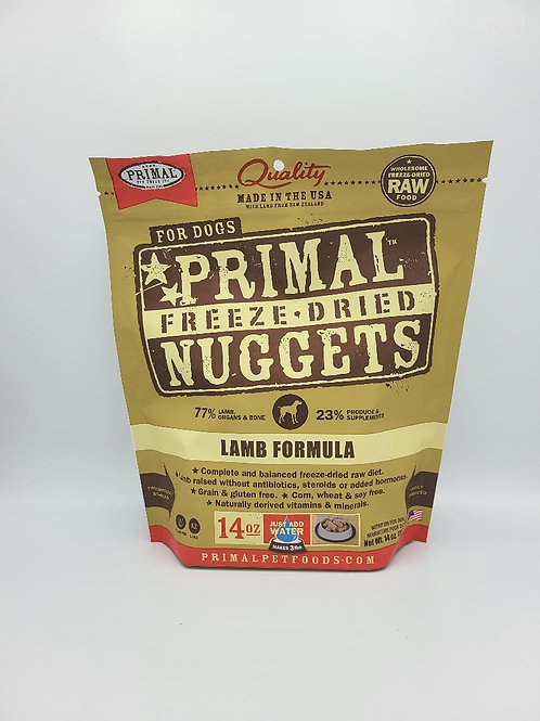 Primal Freeze-Dried Nuggets Lamb