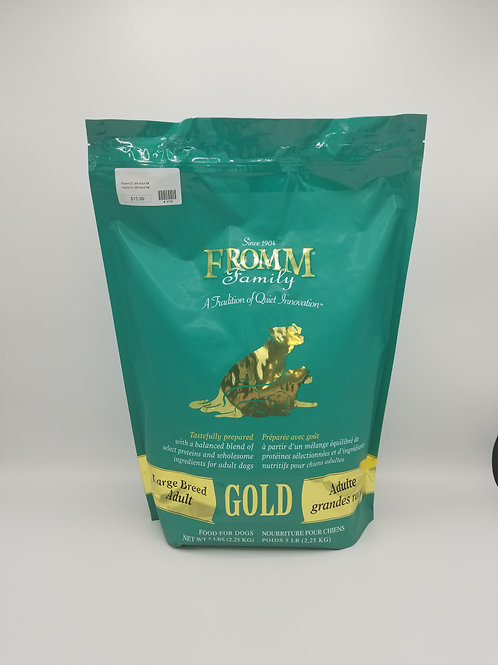 Fromm Large Breed Adult Gold 5 Lbs
