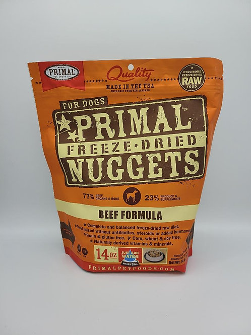 Primal Freeze-Dried Nuggets Beef