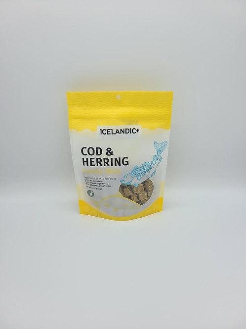 Icelandic+ Cod & Herring Combo Bites