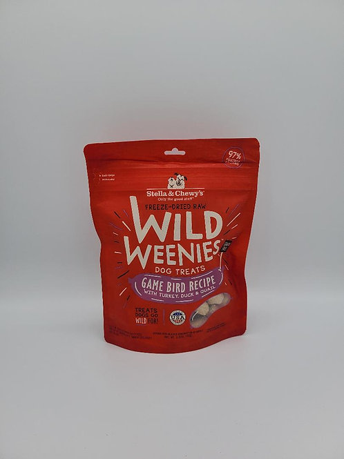 Stella & Chewy's Freeze-Dried Wild Weenies Game Bird