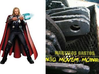 Thor, martelos e o onipresente amido nas fezes das vacas leiteiras  ou simplesmente  Martelos desgas