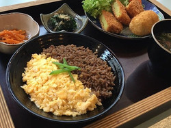 from our daily lunch - Soborogohan